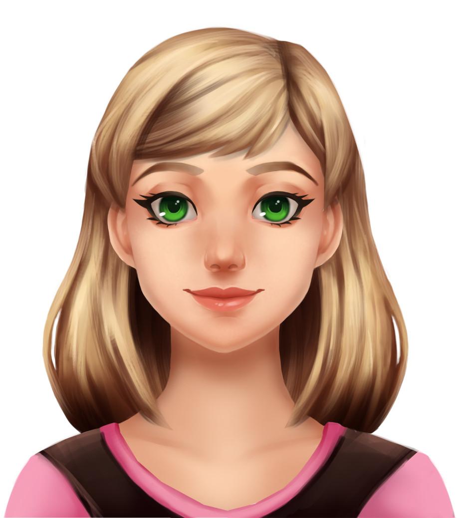 Megan sunnucks portraitpaintingfinished