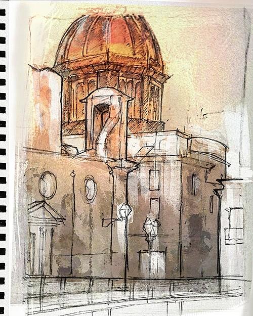 life drawing- Marsala, Sicily