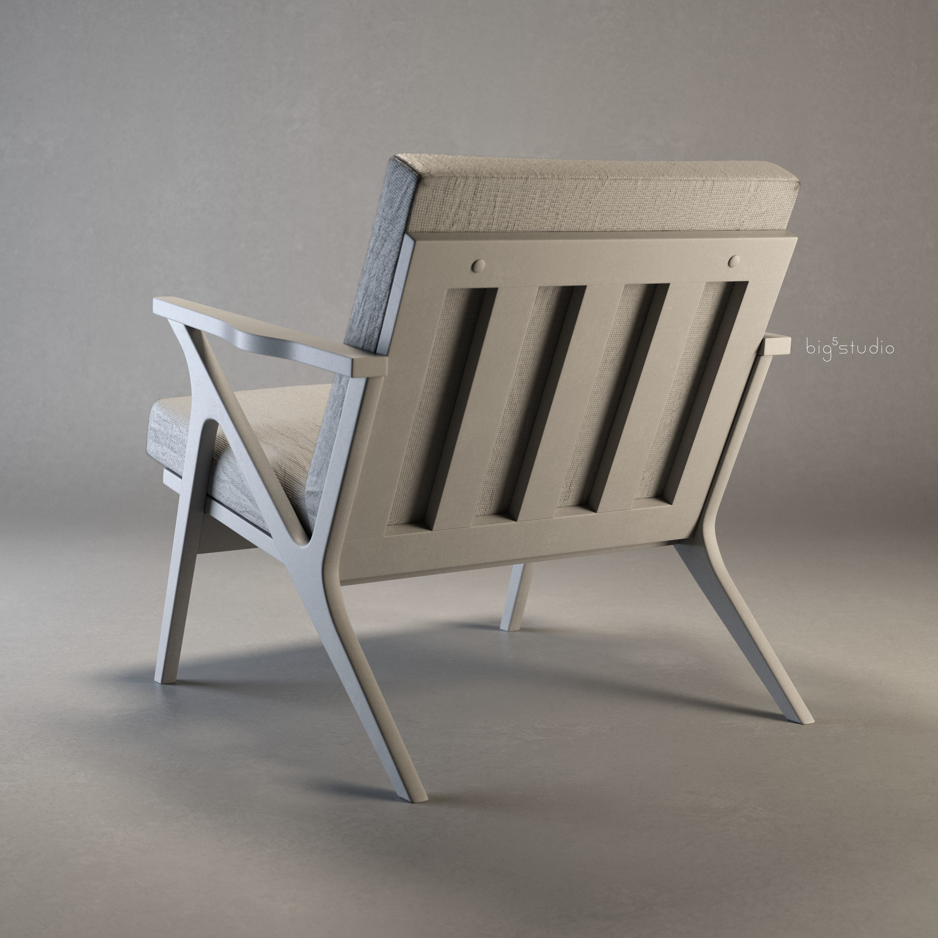 Neal biggs product chair cavettwoodframe0002 clay