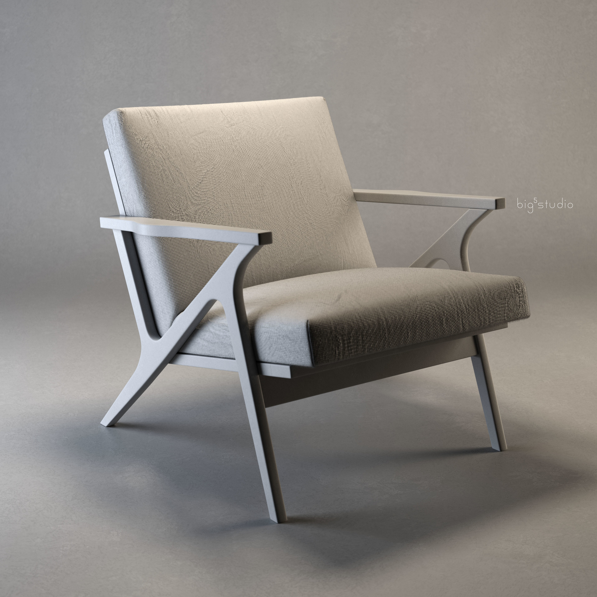 Neal biggs product chair cavettwoodframe0000 clay
