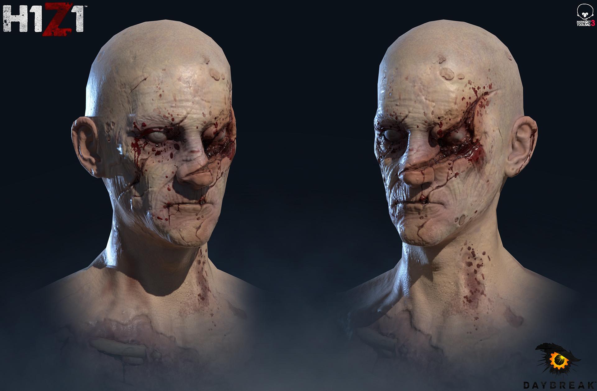 Satoshi arakawa zombie male hex 02