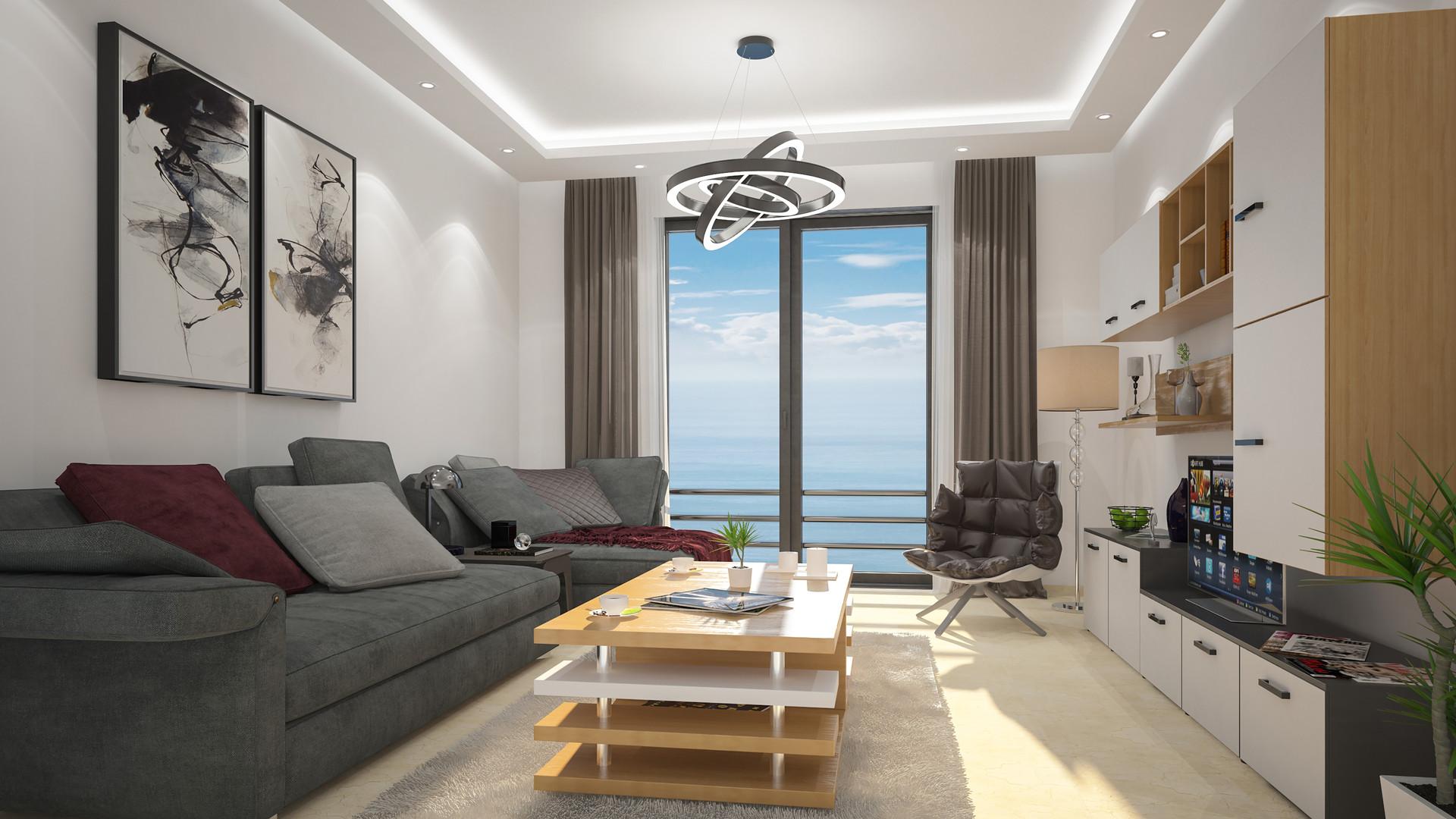Artstation Appartement Temoin 3d Regragui Wahid