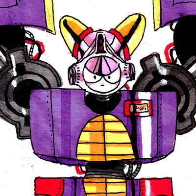 Robot tueur géant