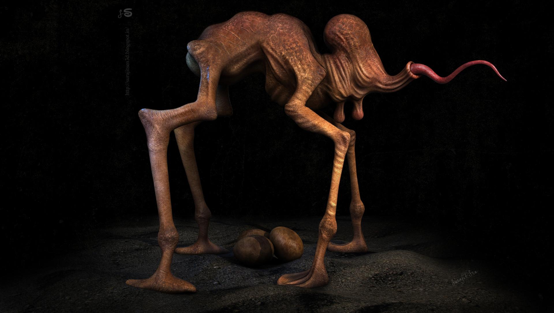 Surajit sen creature by surajitsen 12032018