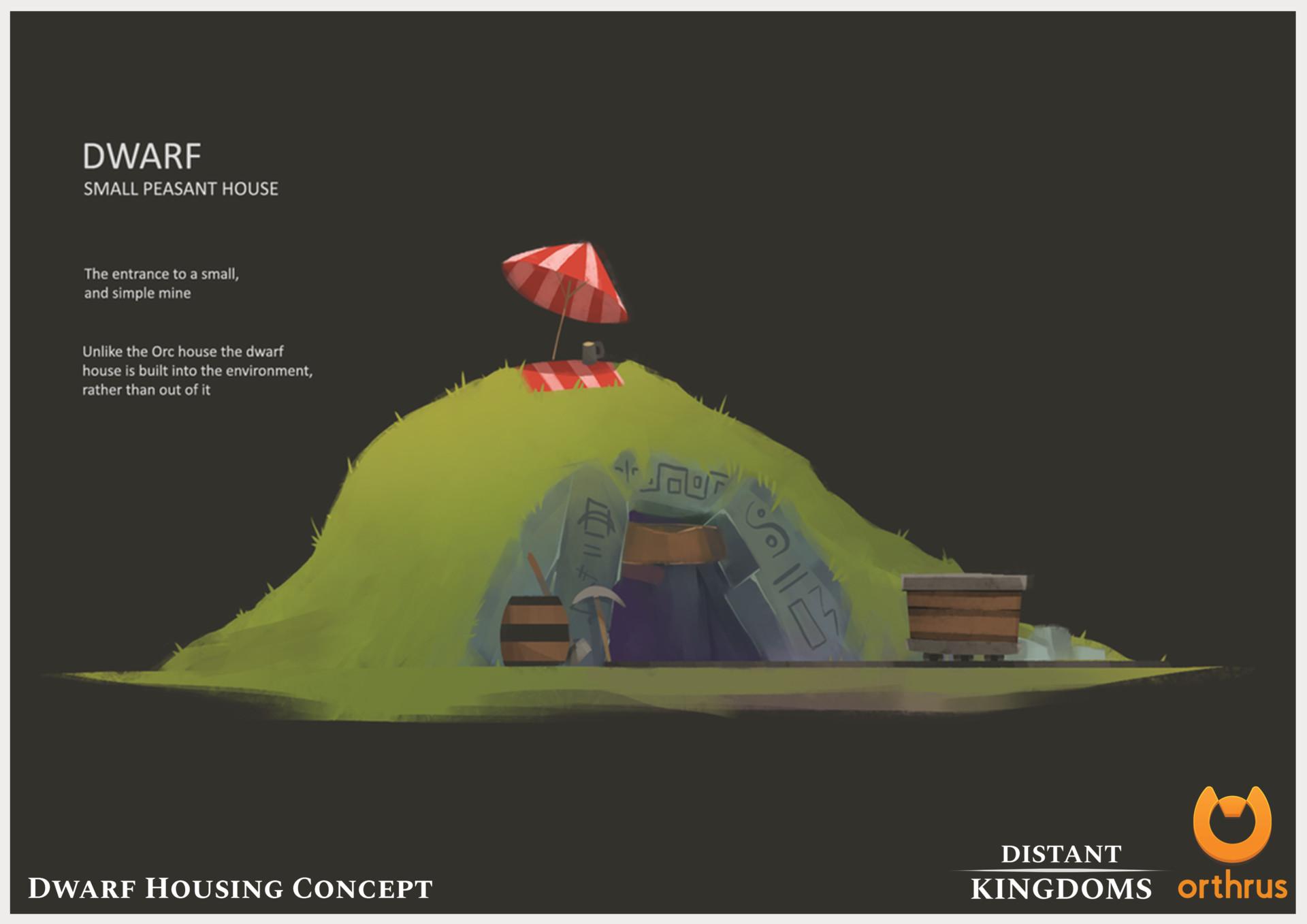 Fantasy Peasant Concept Art