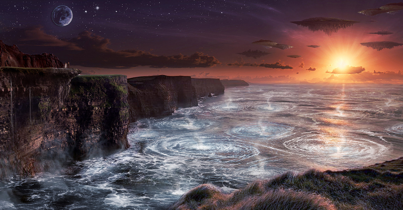 Boiling Cliffs Concept for ABC's Once Upon a Time in Wonderland