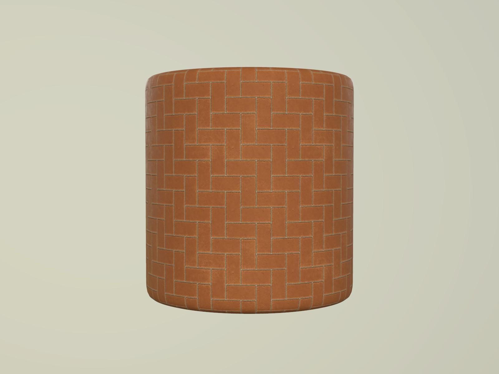 Terracotta Tiles Material