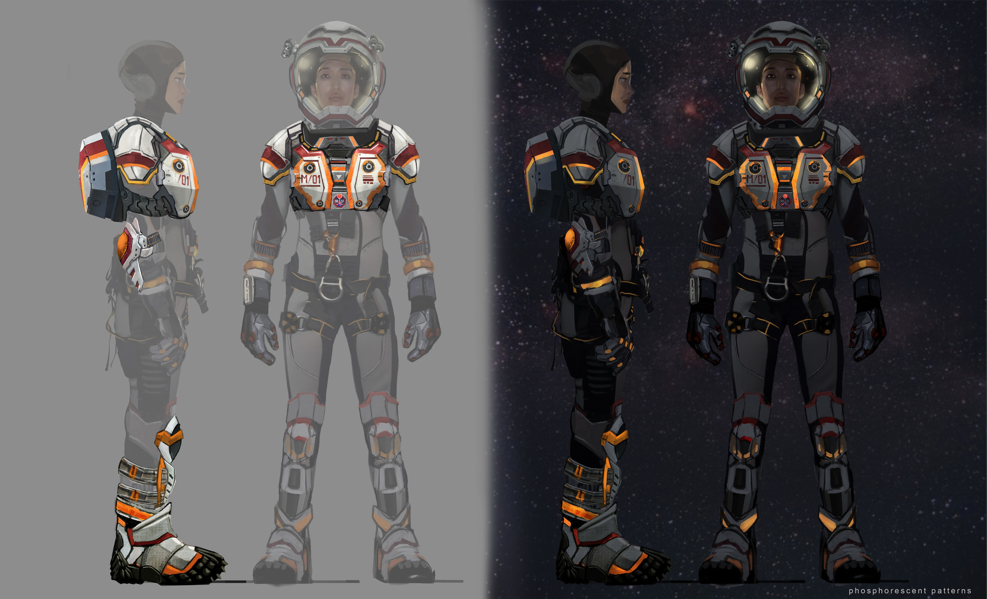 Concept Art The Martian Space Suit