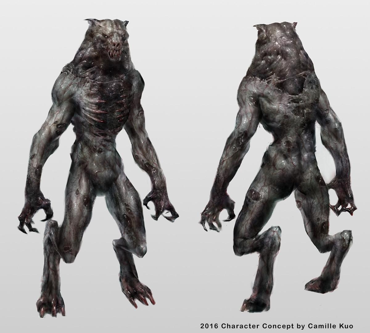 Camille kuo werewolf camillekuos
