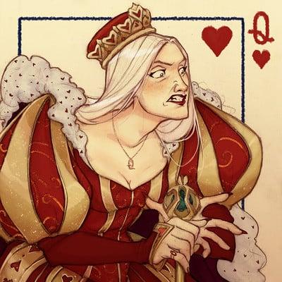Natasa kourti tansa queen of hearts 2