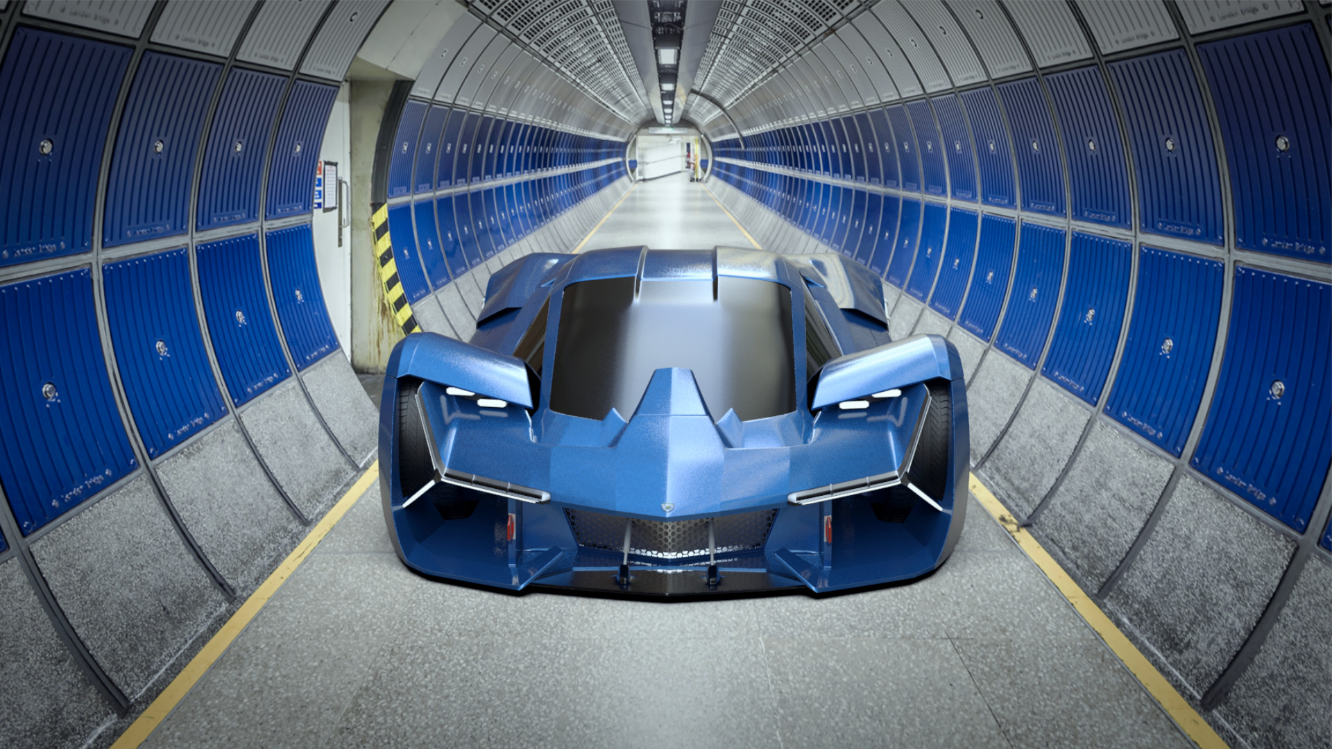 ArtStation Lamborghini Terzo Millennio Returns Naman