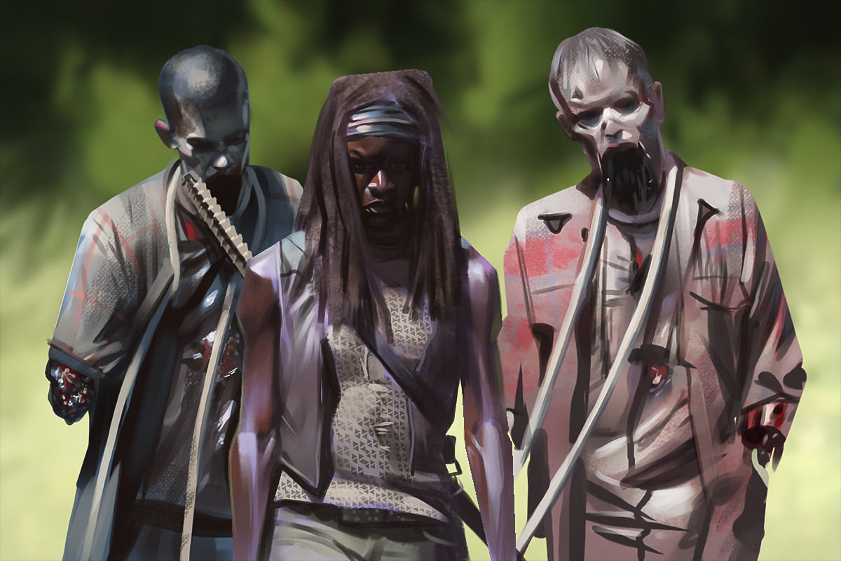 Daryl mandryk michonne and friends