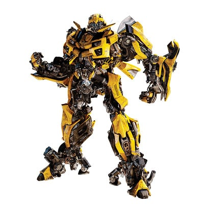 Bastiaan koch roommates new transformers 3 bumblebee giant wall decal assembled product