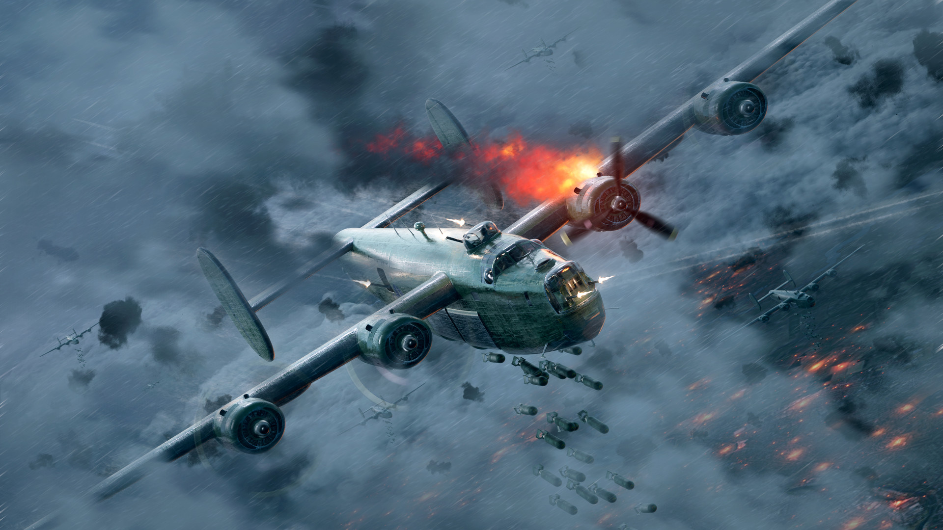 Tamás Török - B-24 Liberator