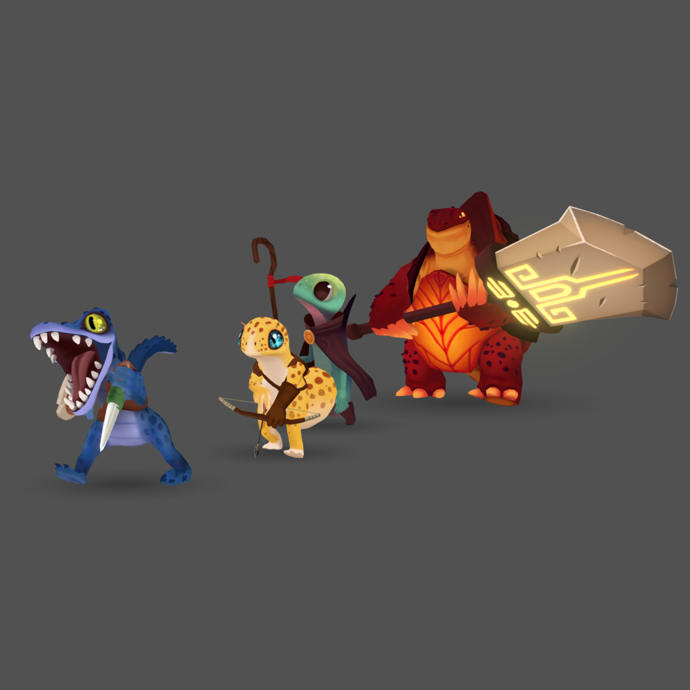 ArtStation - Lizard Squad, Justin T Phillips