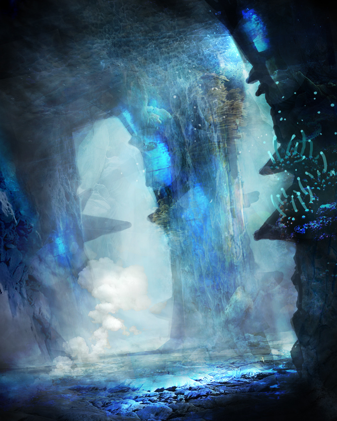 Pradal aurele caverne avancee