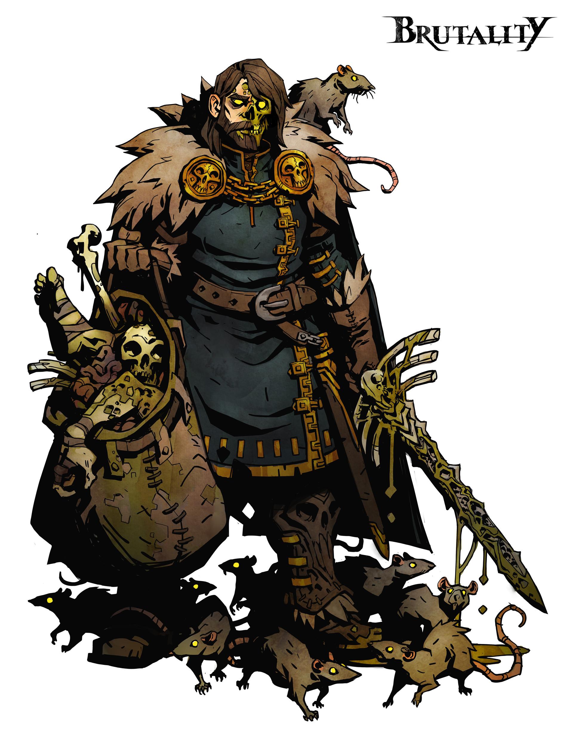 Kory hubbell plague baron final artstation