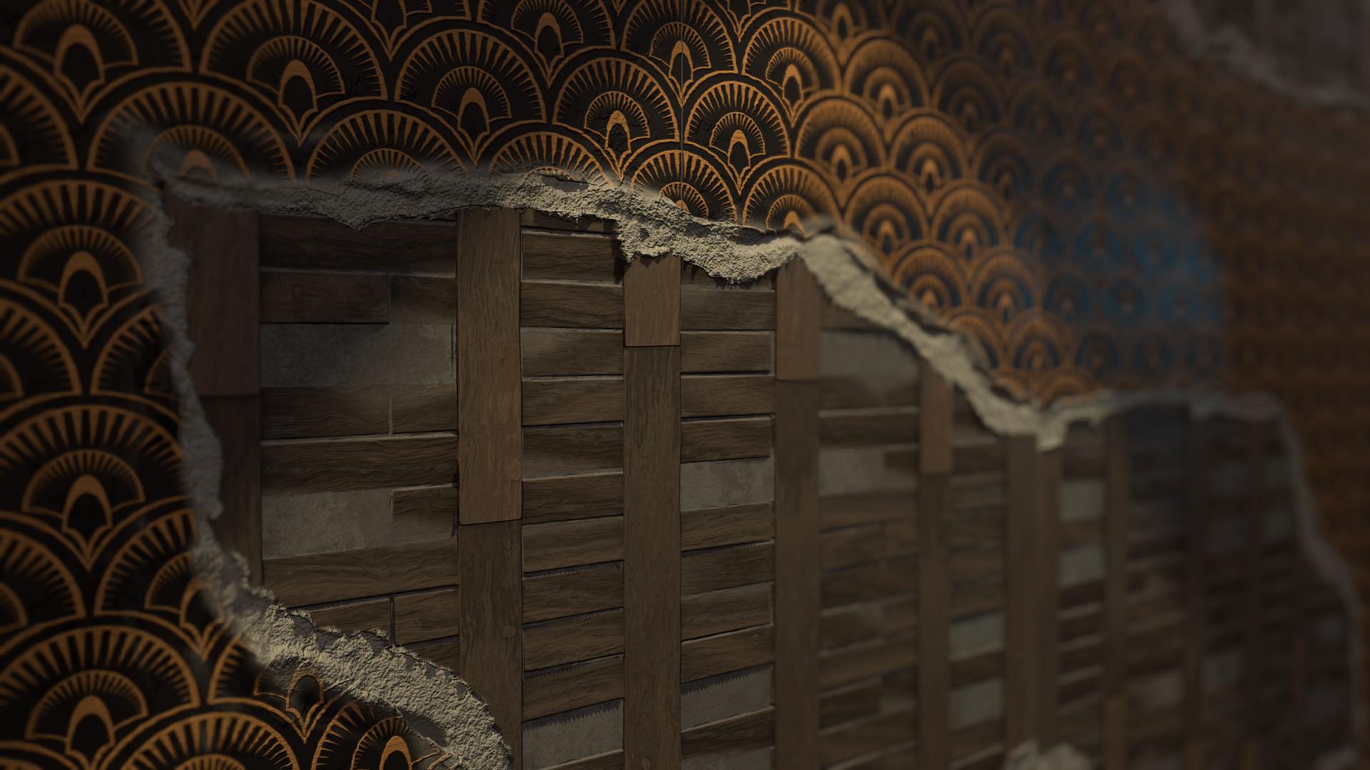 Torn Wallpaper-WIP