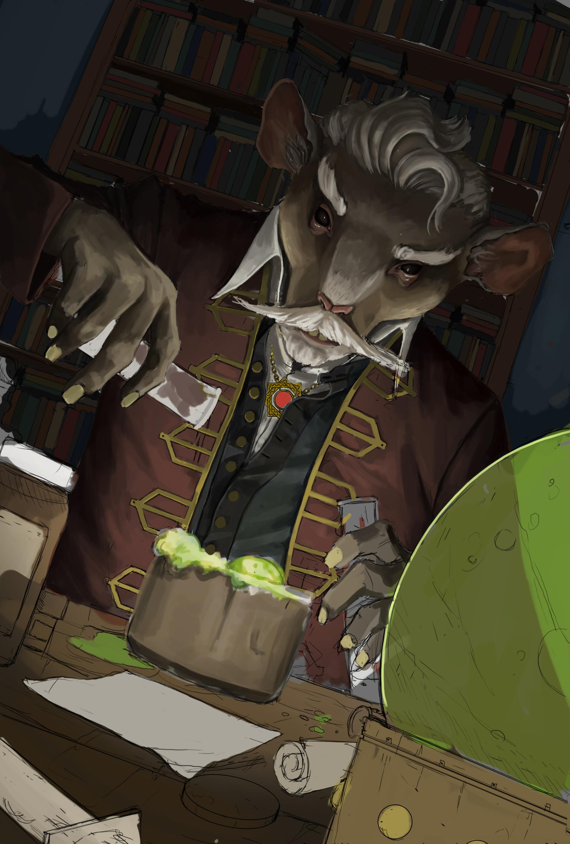 Coty polk rat alchemist progress