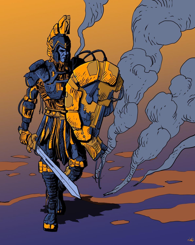 Joao antunes jr antunesketch cgladius depois do combate