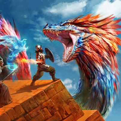 Antonio j manzanedo dragon vs aventureros manzanedo 2