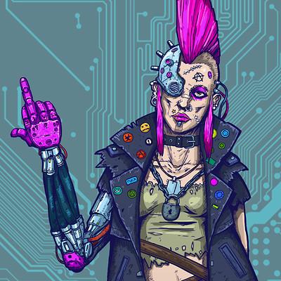 Boris rogozin cyber punk