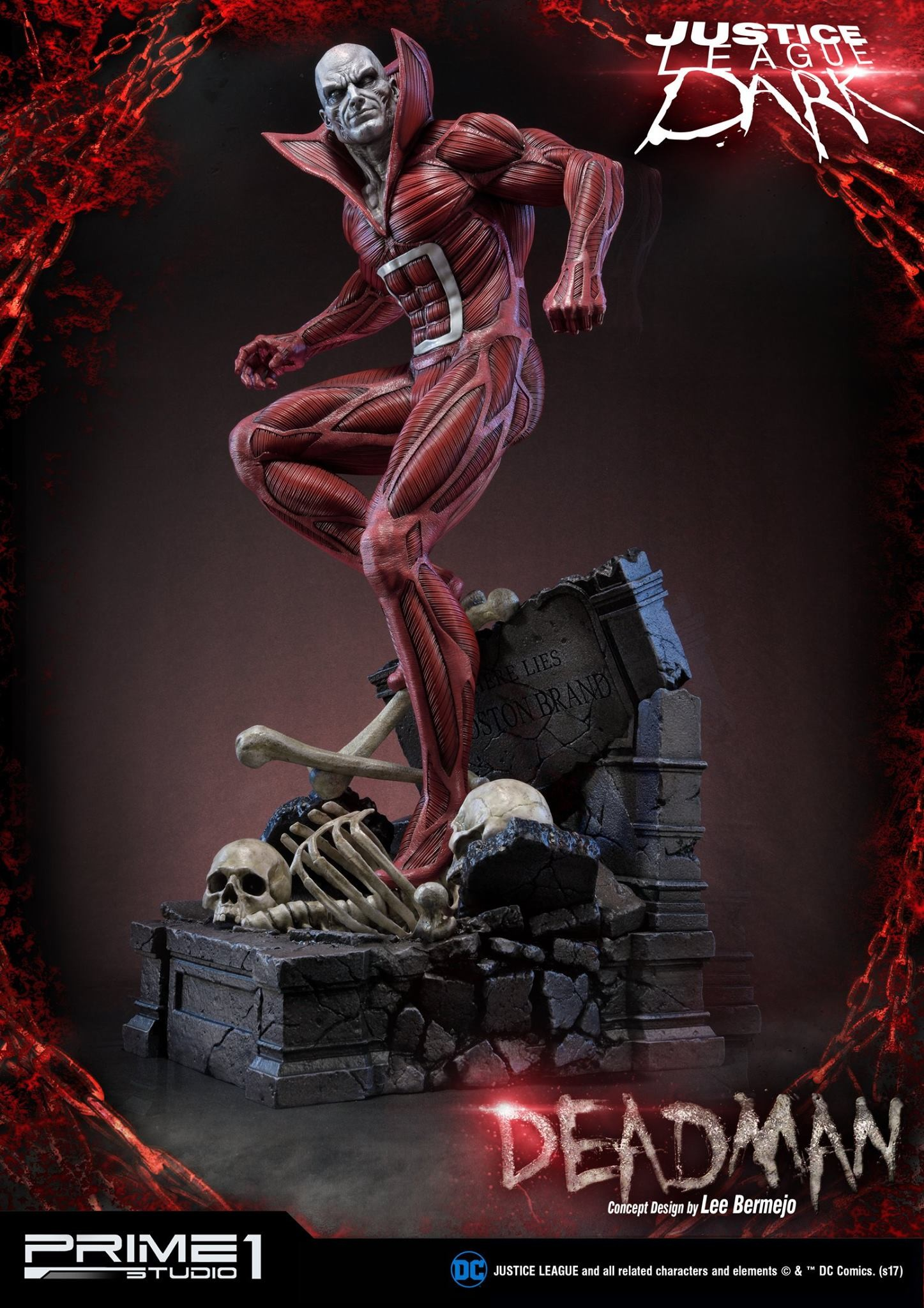Bernardo cruzeiro prime 1 deadman statue 002