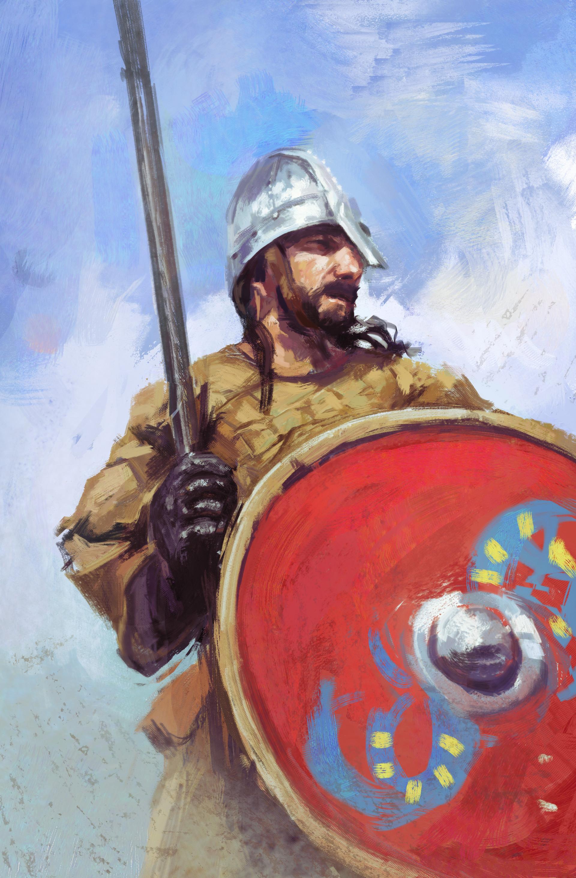 Maciej laszkiewicz 1 anglosaski wojownik