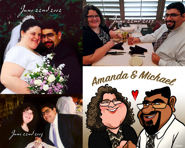 Photo Collage for Amanda and Michael