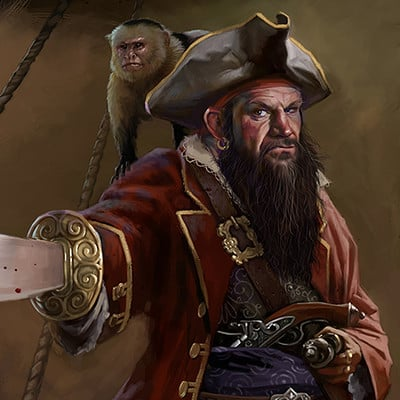 Edward halmurzaev the pirate captain iii