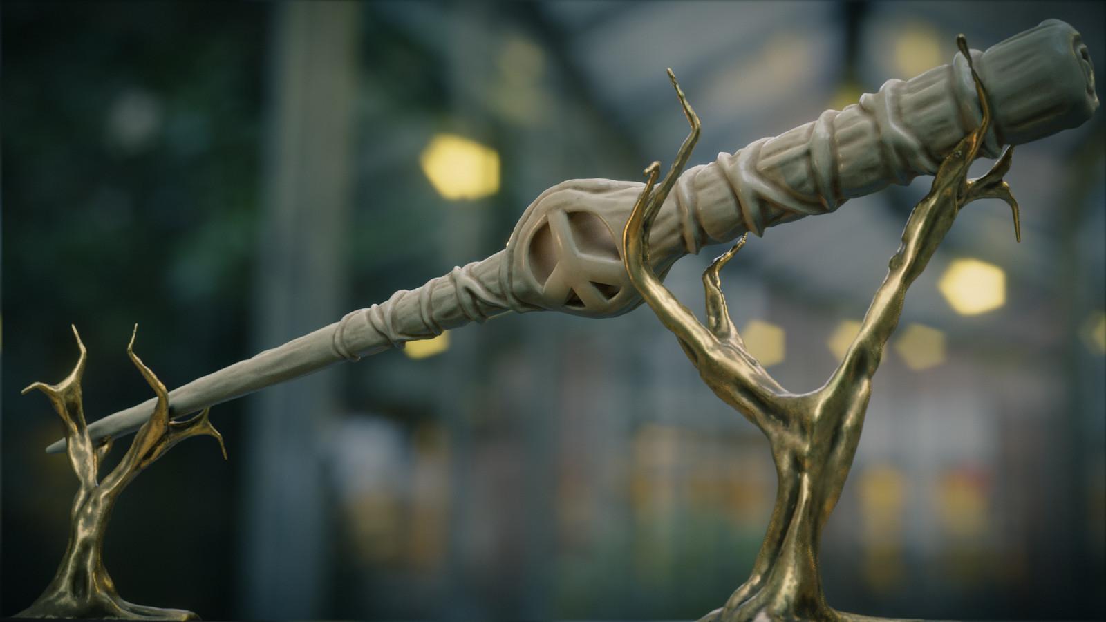 Magic wand of peace