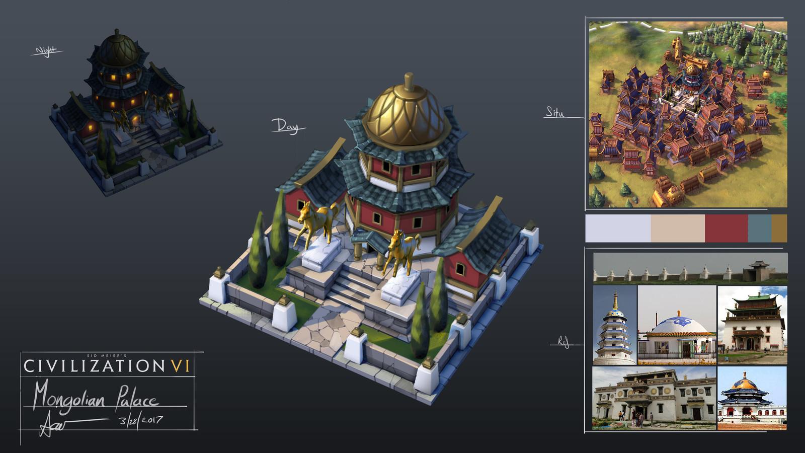 Mongolian Style Palace