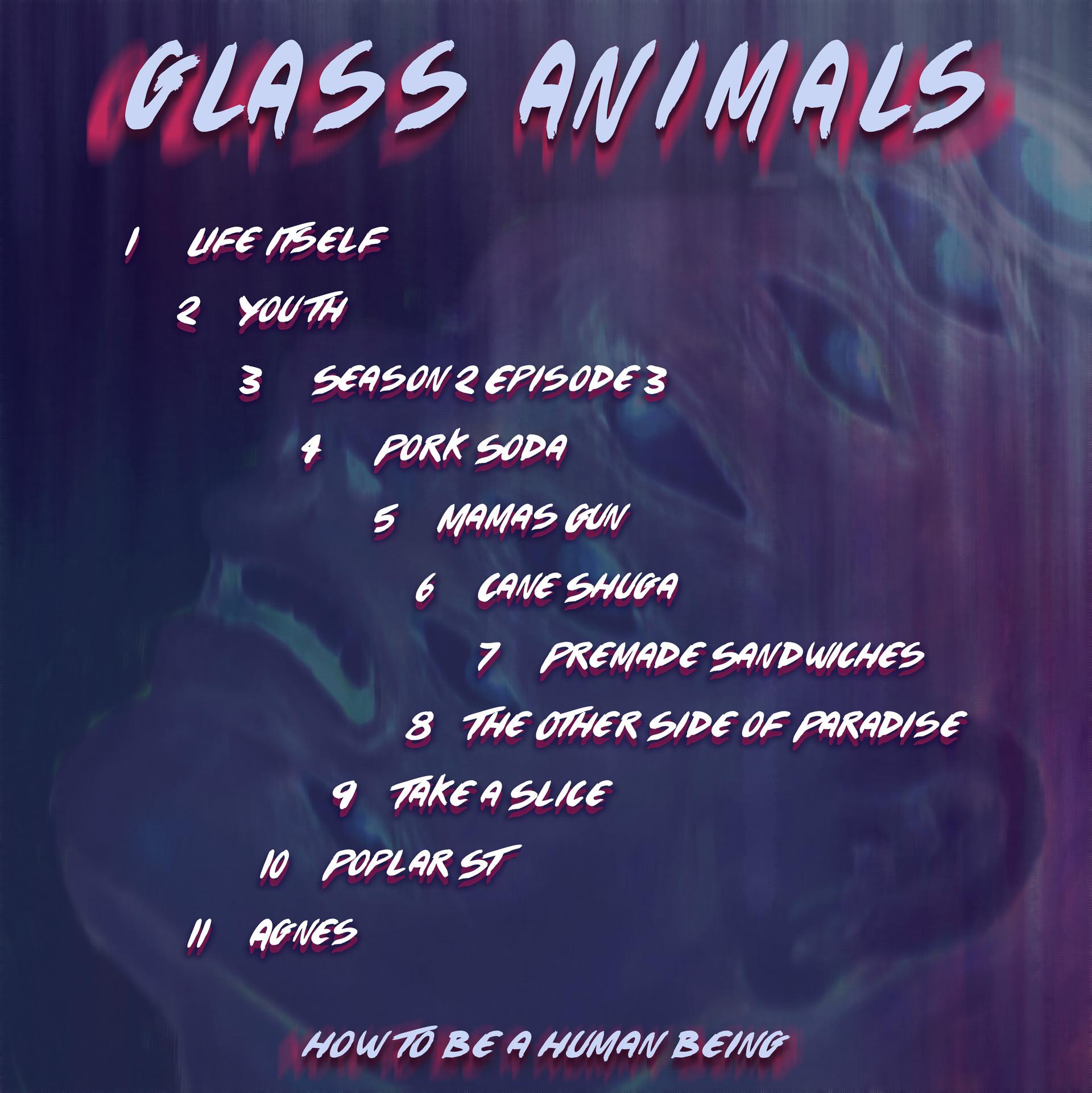 Marina Salvatore Glass Animals Album Cover