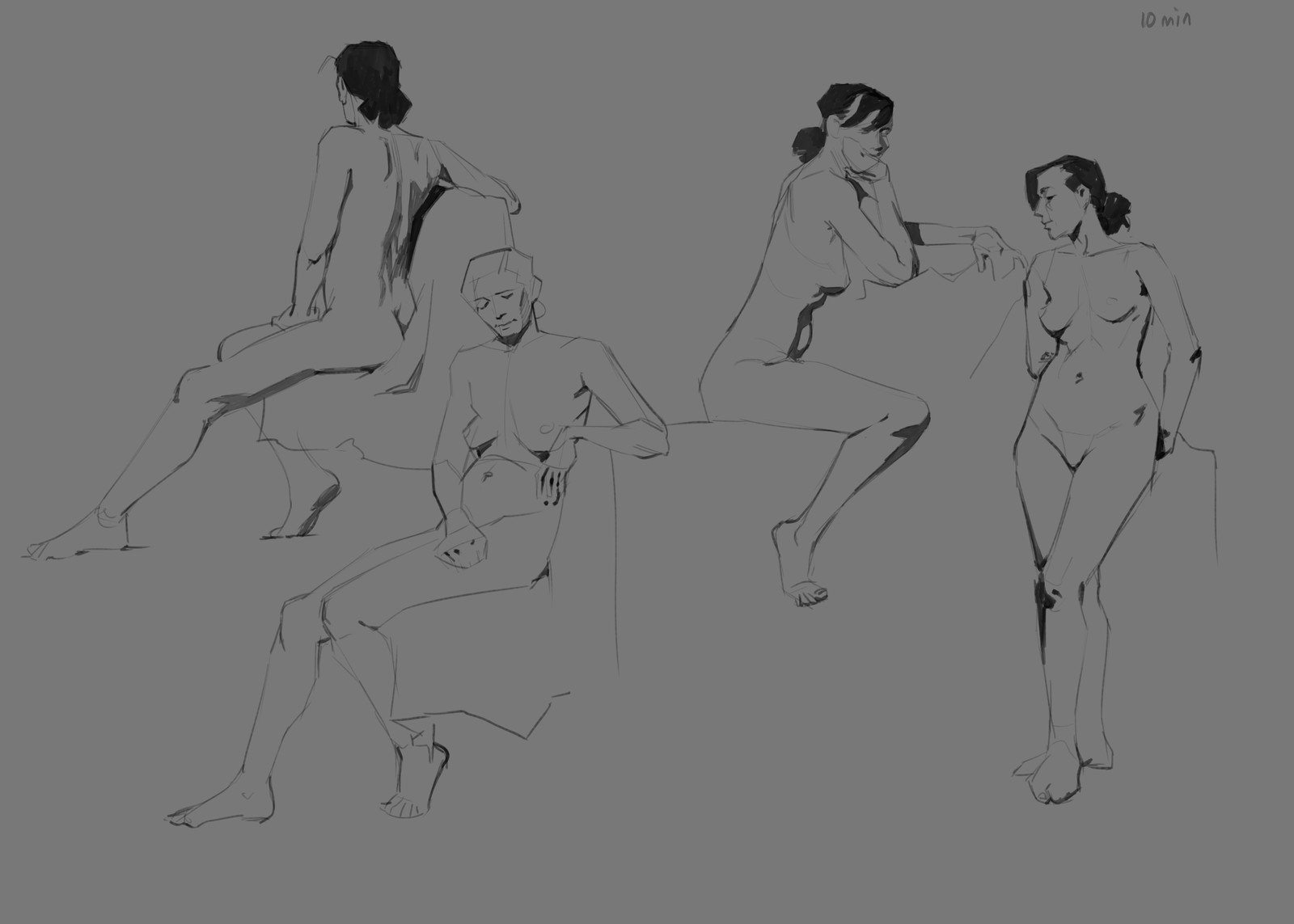 Figure Drawings from Life