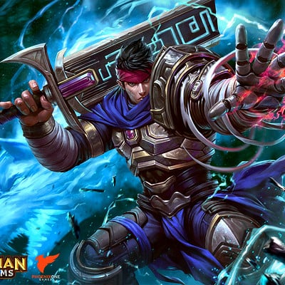Derrick chew guardian kingdoms strider dcwj