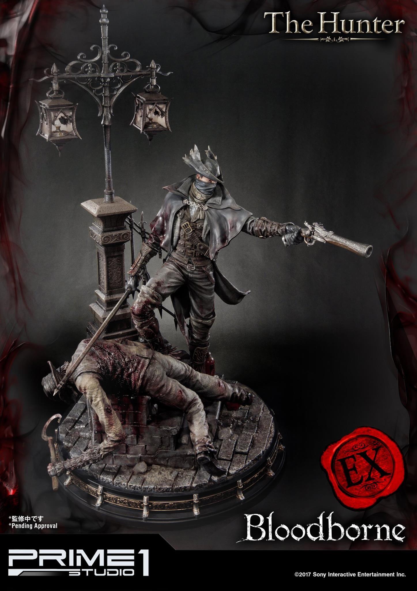 Bernardo cruzeiro prime 1 bloodborne hunter statue 023