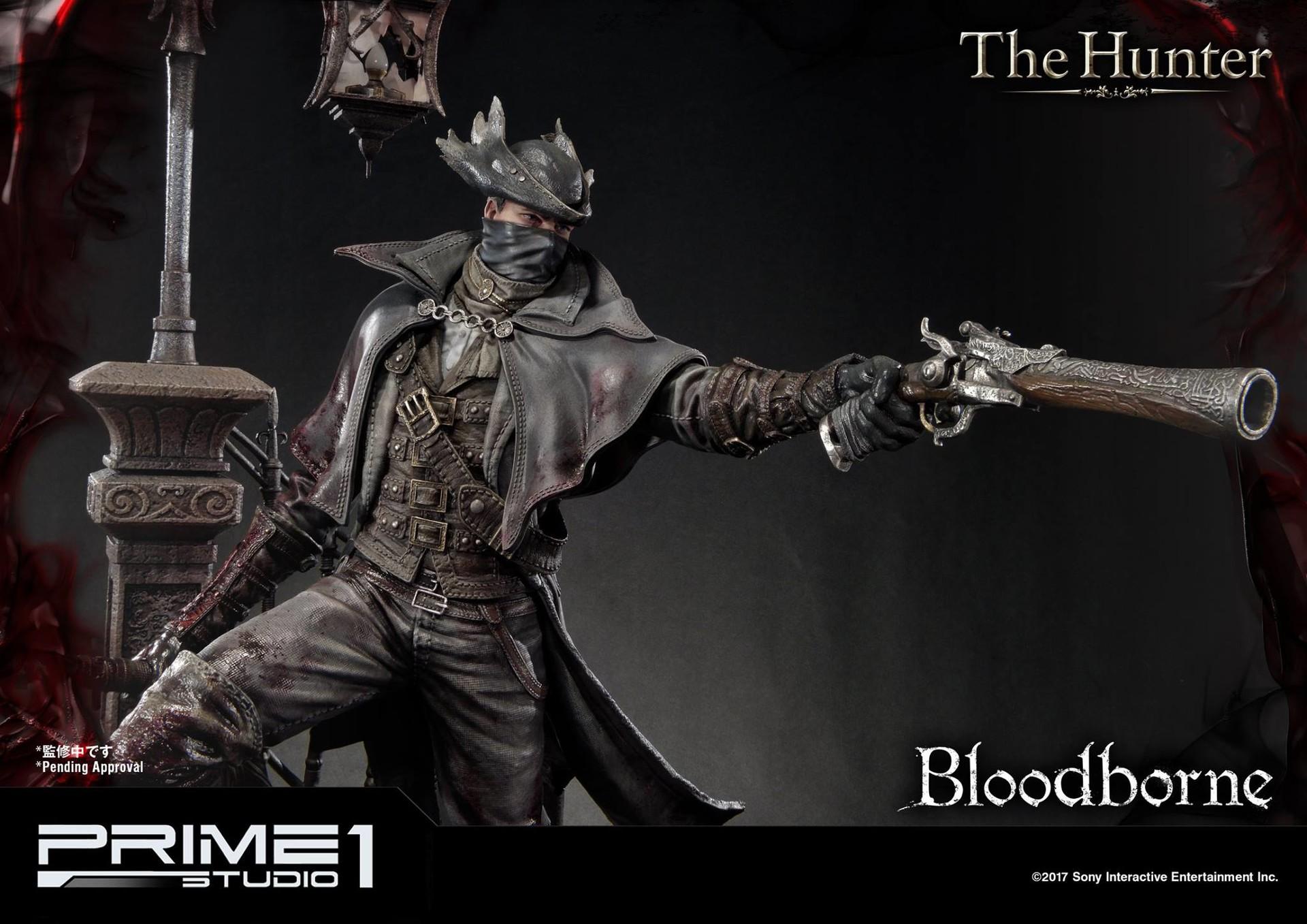 Bernardo cruzeiro prime 1 bloodborne hunter statue 017