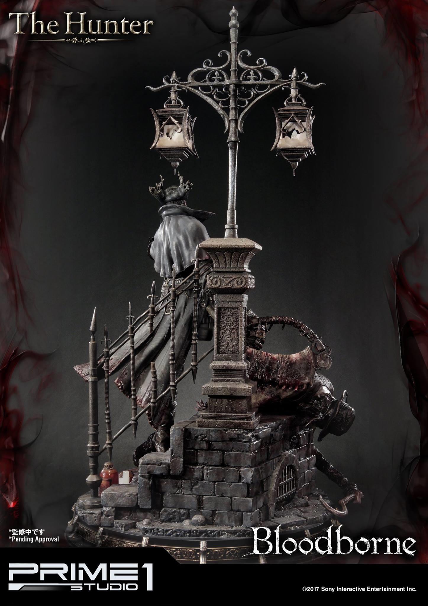 Bernardo cruzeiro prime 1 bloodborne hunter statue 007