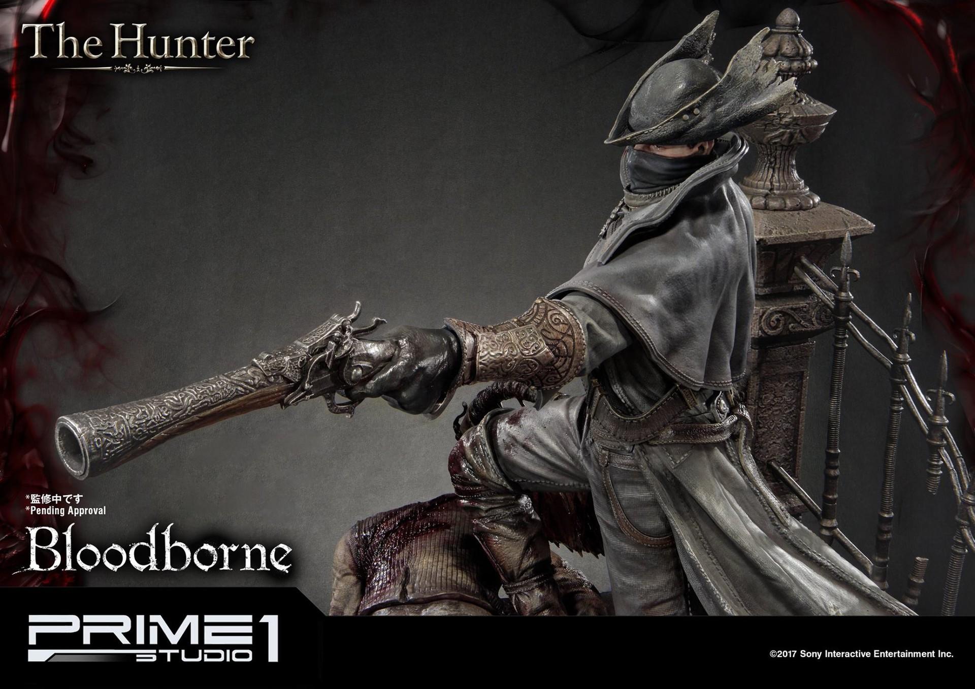 Bernardo cruzeiro prime 1 bloodborne hunter statue 018
