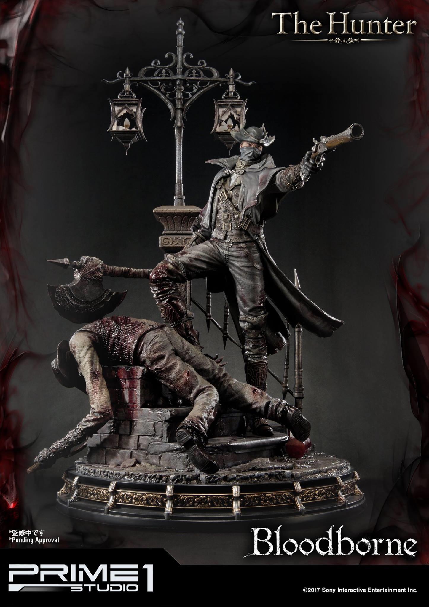 Bernardo cruzeiro prime 1 bloodborne hunter statue 003