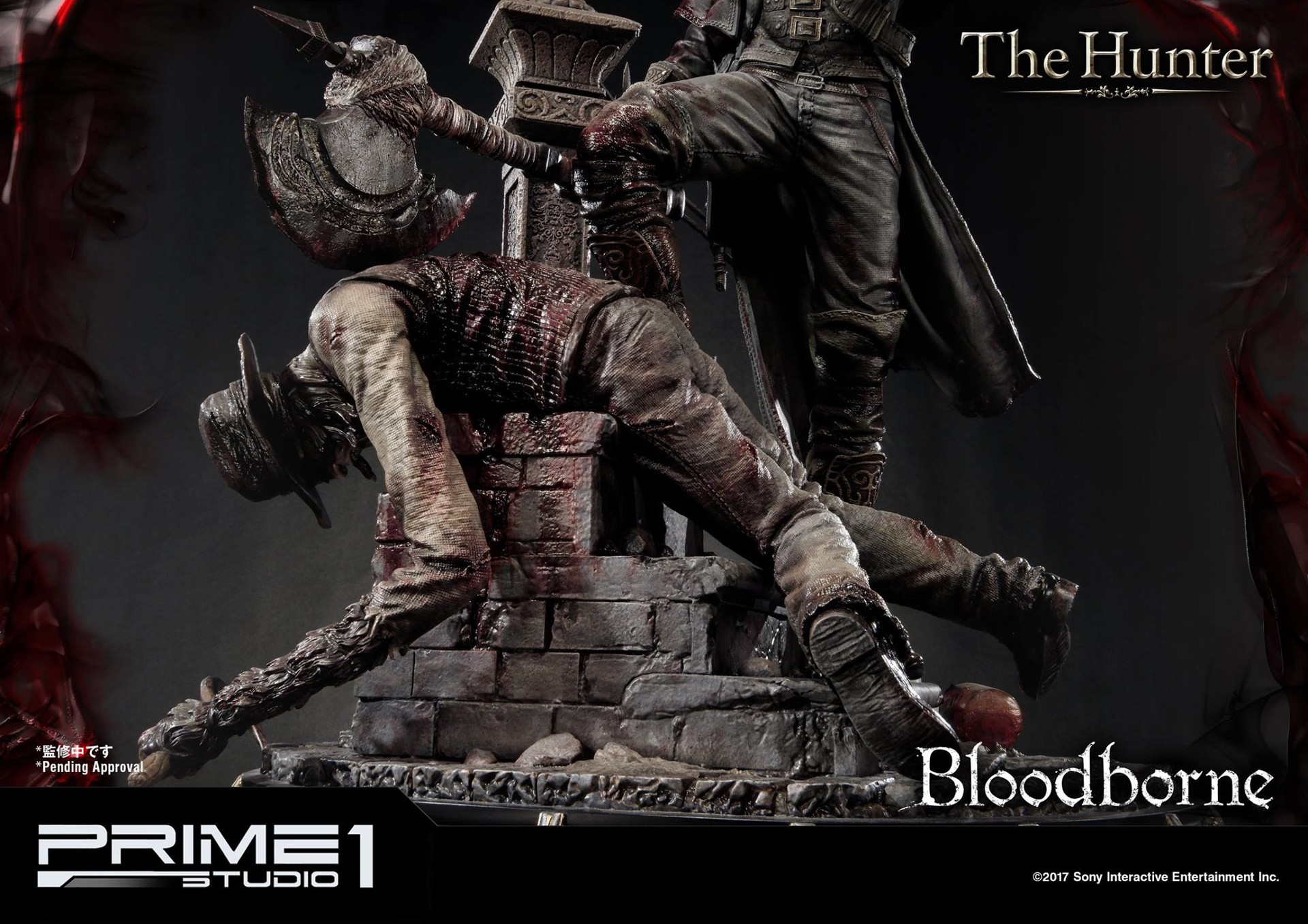Bernardo cruzeiro prime 1 bloodborne hunter statue 019