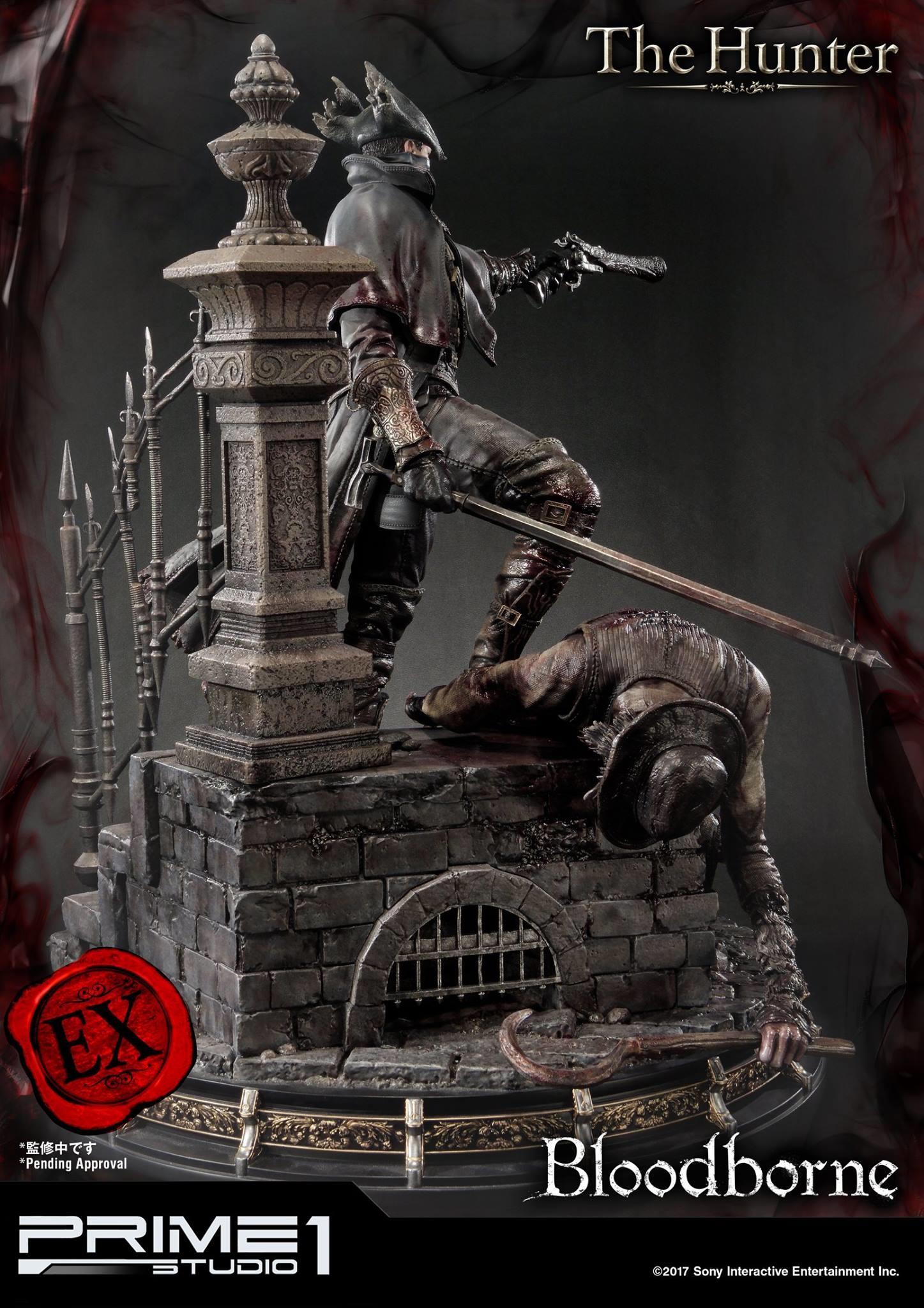 Bernardo cruzeiro prime 1 bloodborne hunter statue 026