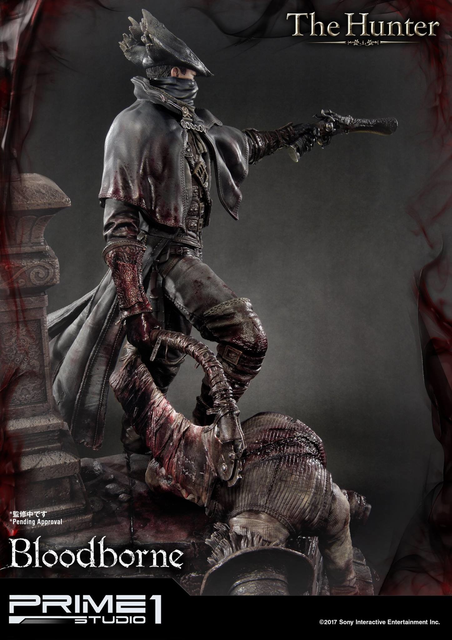 Bernardo cruzeiro prime 1 bloodborne hunter statue 015