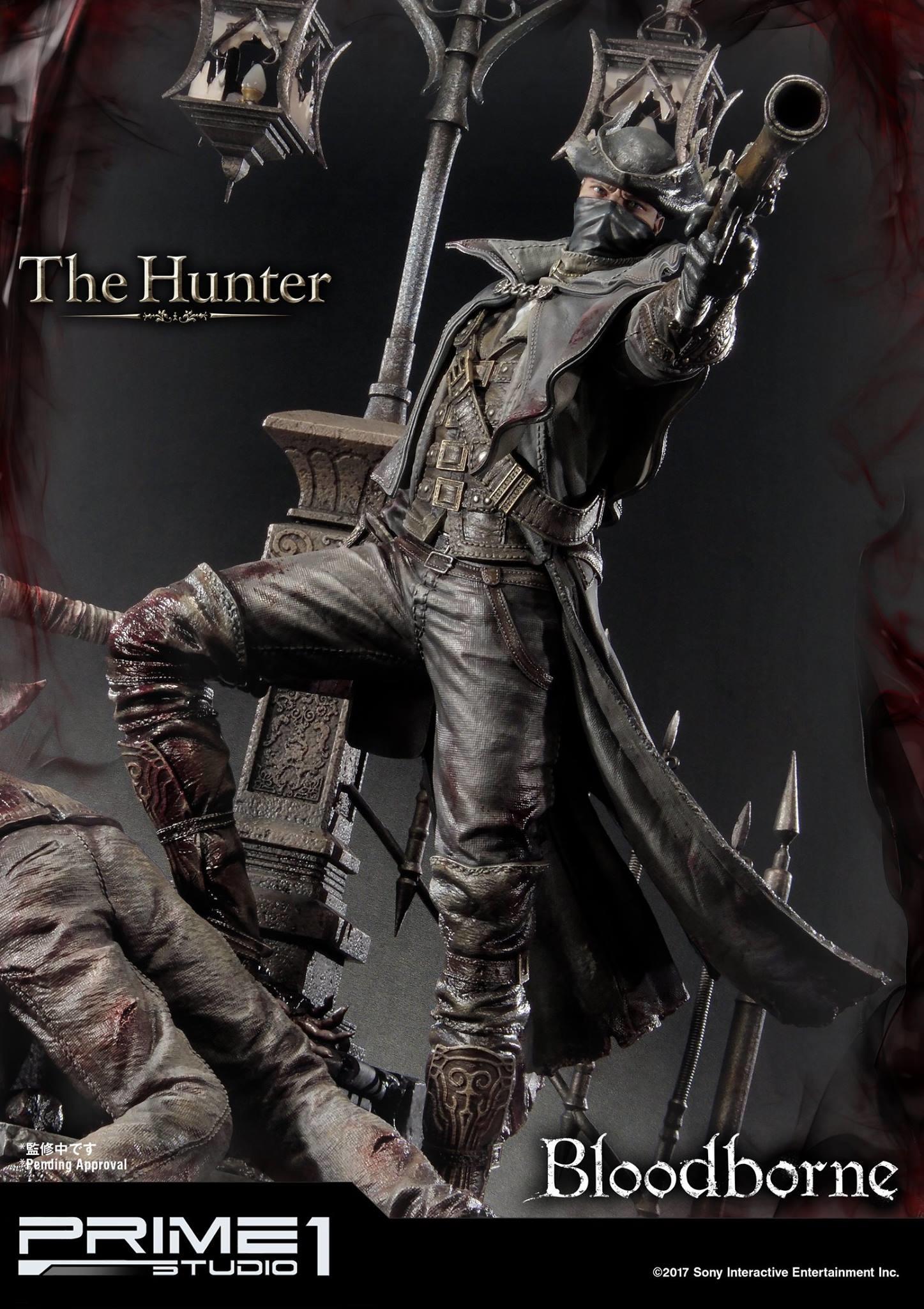 Bernardo cruzeiro prime 1 bloodborne hunter statue 010