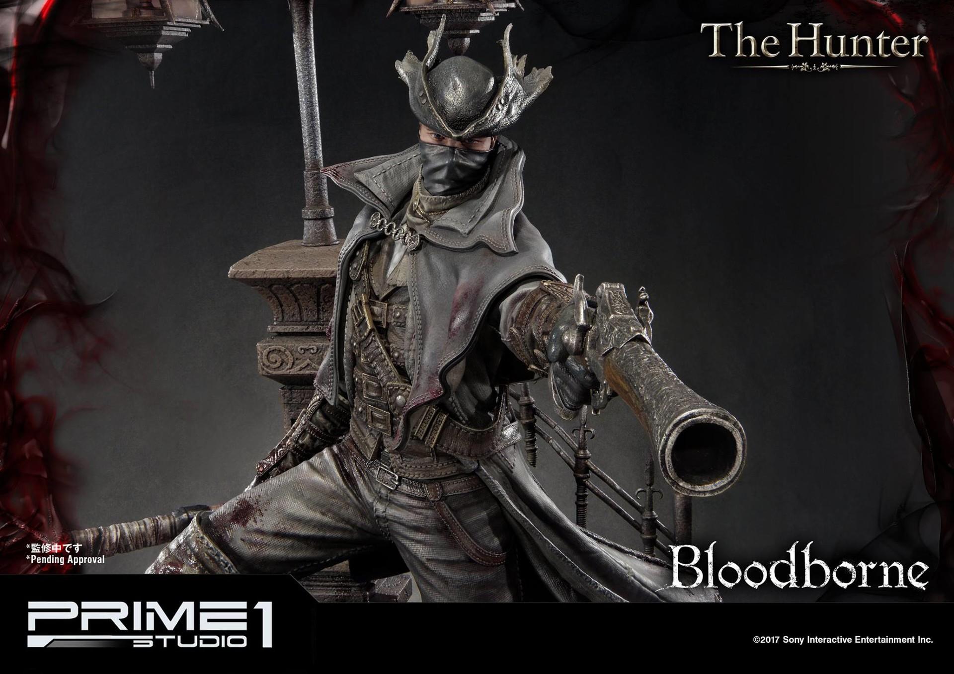 Bernardo cruzeiro prime 1 bloodborne hunter statue 016