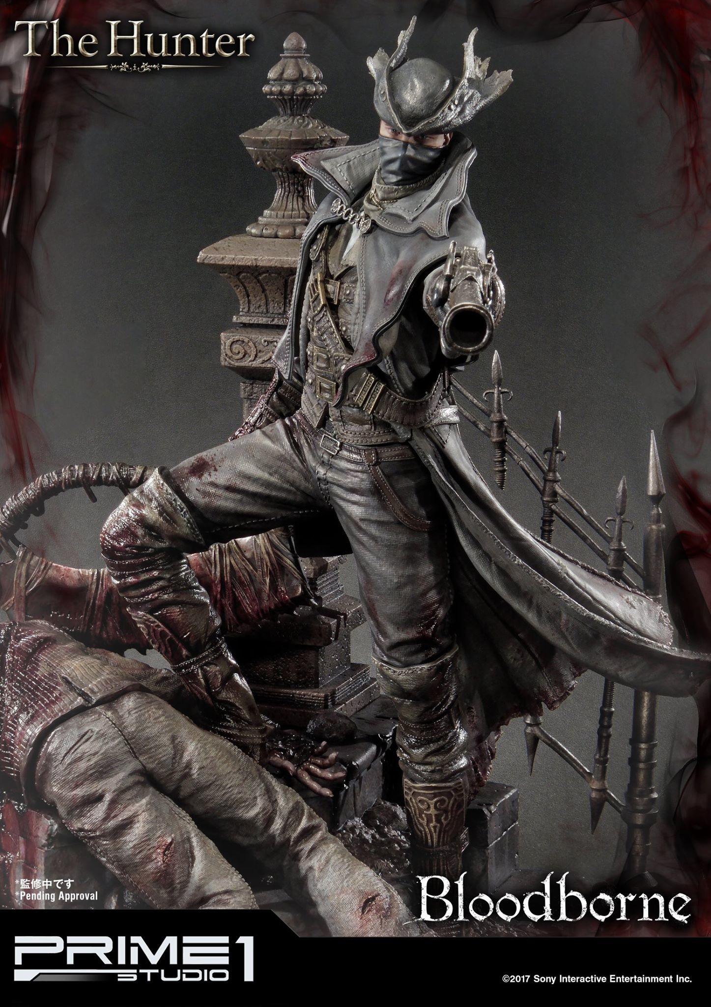 Bernardo cruzeiro prime 1 bloodborne hunter statue 011