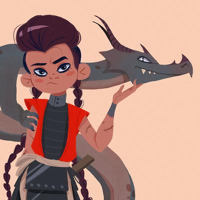 Justine cunha dragons