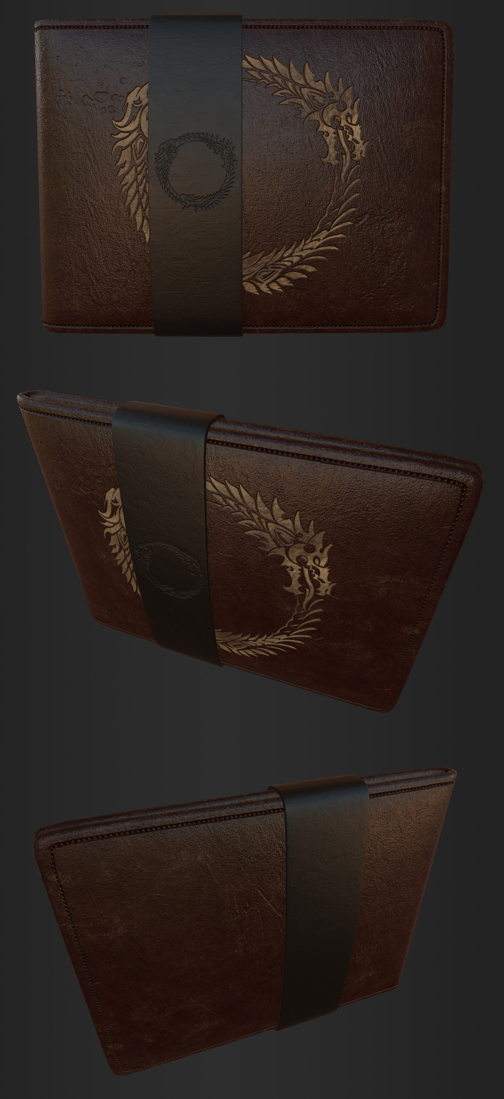 ArtStation - Wallet - The Elder Scrolls Online, Rémi-Dovick Rivest