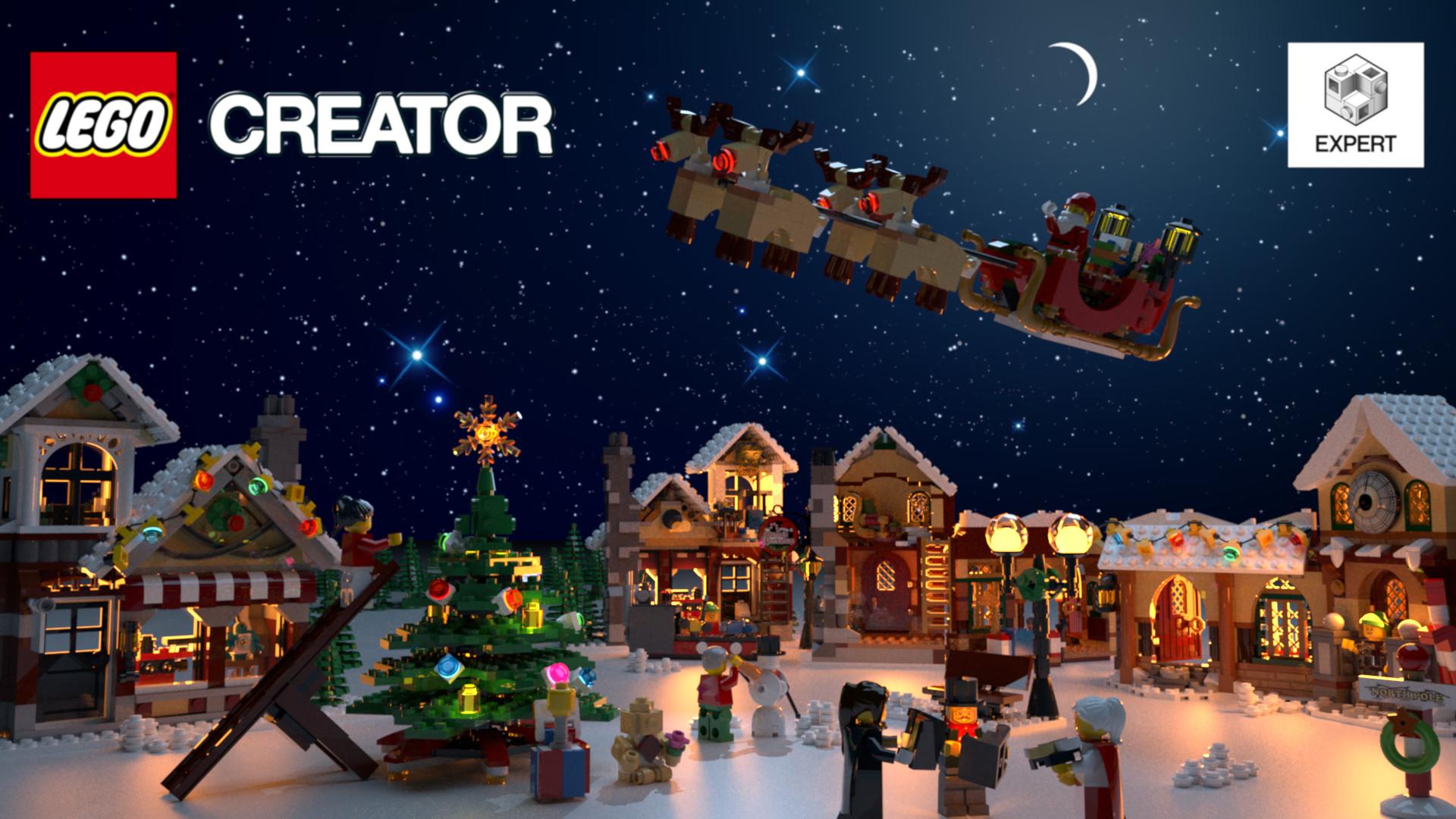 Lego Christmas.Artstation Lego Christmas Lorenzo Dal Pra