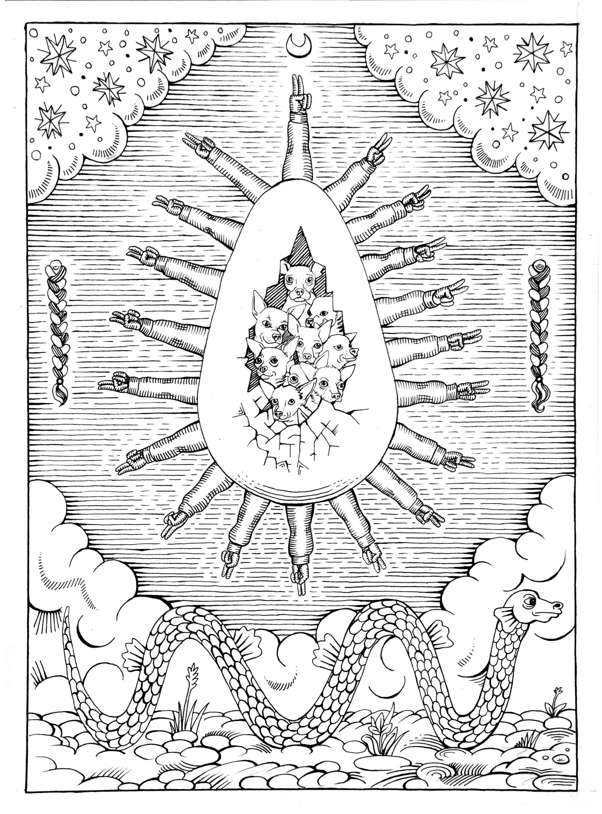 Agathe pitie l oeuf cosmique